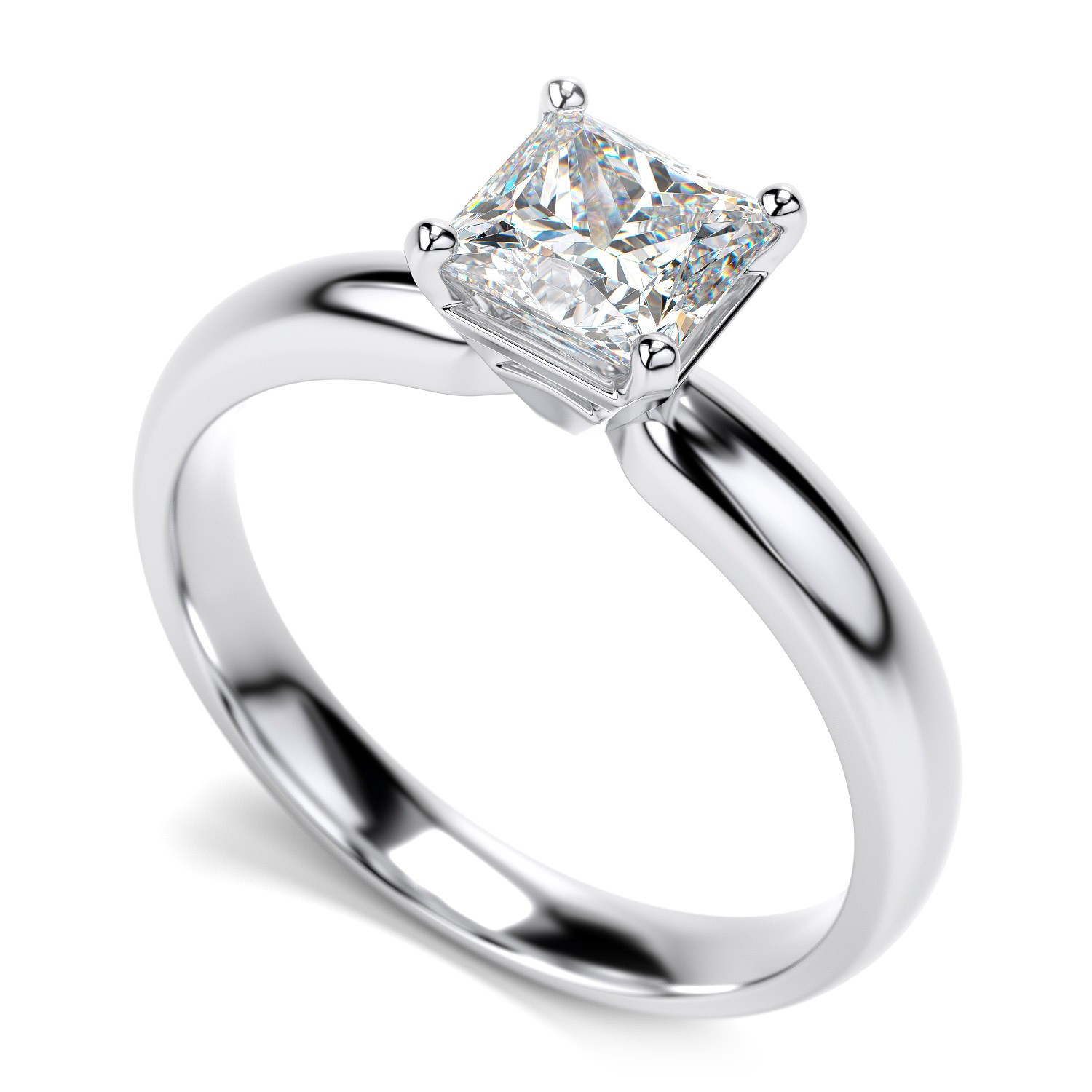 Diamond Solitaire Engagement Rings Tiffany