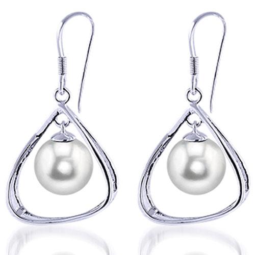 Pearl Earrings Freshwater Sterling Silver