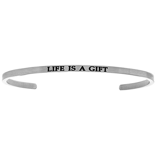 Intuitions Life is great cuff bracelet