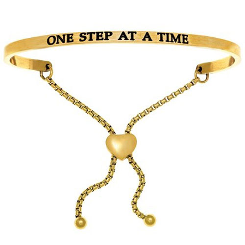 Intuitions one step at a time bracelet