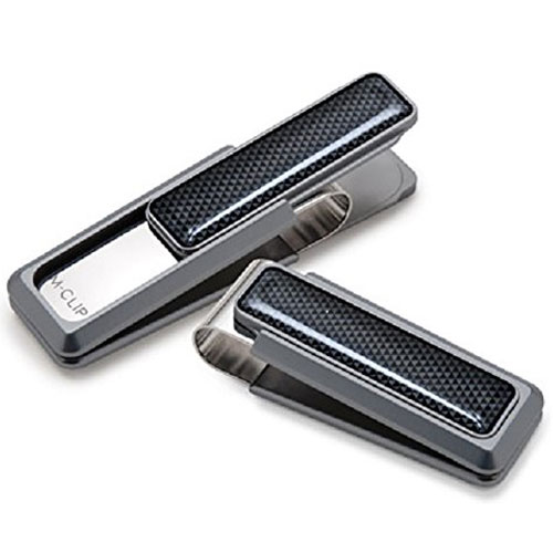 Anodized Stainless Steel M-CLIP Money Clip