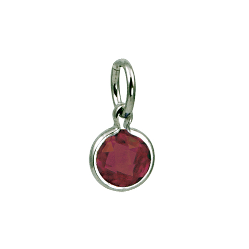 Mommy Chic January Birthstone Charm