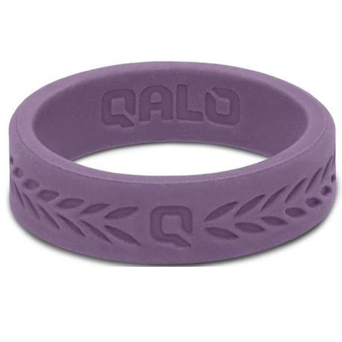 Qalo women's silicone ring or wedding band