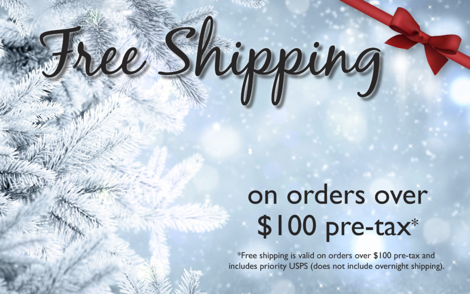 Save on Shipping!